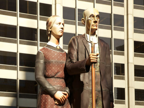American Gothic Seward Johnson Atelier