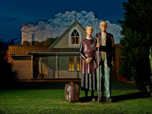 grant wood – Seward Johnson Atelier